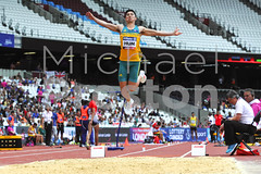 2017 World Para Athletics Championships - Men's Long Jump T20 Final (cloudwalker_3) Tags: 2017 adults athletes athletics aus aussies australia australians britain commonwealthofaustralia competitions crowds disability disabled east elite england events games gb greatbritain image international london longjump males man men olympicpark paralympics parathletes people persons photo photograph pic picture queenelizabetholympicpark sports stratford t20 uk unitedkingdom worldparaathleticschampionships