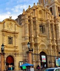 Frontispicio de la Catedral de Santiago Apóstol, hoy (jerodamor@yahoo.com.mx) Tags: catedrales barroco saltillo coahuila méxico