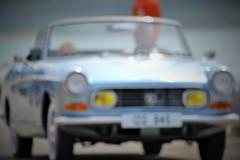 Classic Mirage.. (Michael C. Hall) Tags: car blur focus mirage sun convertible peugeot