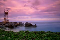 Belmar New Jersey (stevewojnicz) Tags: belmar beach ocean sand newjersey sunset sunrise sky