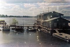 landing stage (narrator of the tales) Tags: jupiter 8 zorki 3 film 35mm