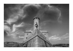 Faro Punta Nariga (Juan Baz) Tags: faro coruña nariga costa bw nature sea lighthouse