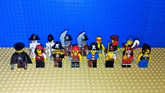 Pirates Faction 2 (Mana Montana) Tags: lego toys minifigures pirates musket saber army undead swashbuckler scallywag