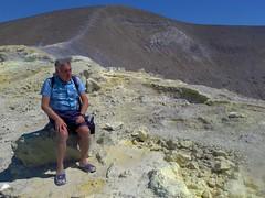 Isola di Vulcano (ME), 2017, La salita al cratere. (Fiore S. Barbato) Tags: italy sicilia isola isole eolie arcipelago vulcano cratere sentiero sentieri fumarola fumarole vulcanello