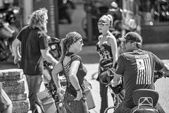 Mount Up & Ride (Oliver Leveritt) Tags: afsnikkor70200mmf28gedvrii oliverleverittphotography sb800 flash speedlight speedlite motorcycle nikond610 rockisland thedistrict illinois candid