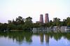 Arquitectura (Liliana Es) Tags: building lake trees city méxico mexicocity cdmx architecture reflction
