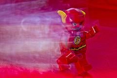 Flash (Wal Wsg) Tags: flash theflash lego legoflash legodc legodcflash canoneosrebelt3 creativo creative toy toylego juguete juguetelego speed muñeco argentina