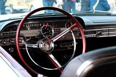 RPM. (SkipperWP) Tags: rpm american americancar car dashboard steeringwheel details fuji fujifilm xt1 xf50140 tachometer autogage autometer ford mercury monterey 1962