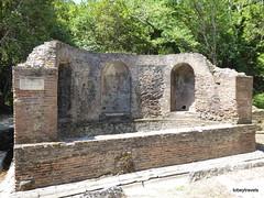0014 Nymphaeum beside the Great Basilica , Butrint (2) (tobeytravels) Tags: albania butrint buthrotum illyrian nymphaeum