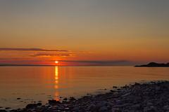 Midnight trip in Vardø (Kjell75) Tags: vardø varanger tibola drakkar ignordnorge igfinnmark midnightsun midnight sea water fog sky cloud bbc nrk natgeo ngc discovery nature outdoor