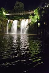 Mena Falls at Night, Paronella Park (stephenk1977) Tags: australia queensland qld cairns innisfail paronellapark mena falls waterfall night river handheld nikon d3300