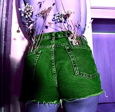 About your ass. (lauratintori) Tags: photoshoots photoshoot shooting colourinvert bedroom detail details female model woman girl pointofview hottie hot sexy sex body nikond7200 d7200 nikon butt ass jeans flower flowers purple green colourful colour photography picture pic photo ph lauratintoriph