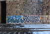 Zoe, Sante (NJphotograffer) Tags: graffiti graff nj new jersey trackside rail railroad bridge zoe hsc crew sante