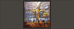 MEZQUITA AZUL-PINTURA-ESTAMBUL-SULTAN-AHMED CAMII-MEZQUITAS-INTERIOR-TURQUIA-PAISAJES-PINTURAS-ARTISTA-PINTOR-ERNEST DESCALS (Ernest Descals) Tags: mezquitaazul mezquitamezquitamoska estambul instambul istanbul turquia turkey art arte artwork pintura pinturas pintar pintando arquitectura pintures quadres cuadros cuadro oleo oleos historia sultanahmetcamii painter painters àintings paintig paint pictures pintor pintores pintors paisaje landscape lnadscaping interior interiores luz luces espiritualidad espiritual plastica ernestdescals artistas plasticos artist artistes constantinopla bizancio history architecture