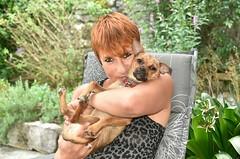 ~~ Ma toute petite Fille ~~ (Joélisa) Tags: lily joe joélisa chien dog portrait juillet2017 deux two
