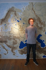 Viking map (kendradrischler) Tags: visby mats museum map