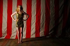 Circus Girl (Studio d'Xavier) Tags: circusgirl portrait strobist circus acrobat