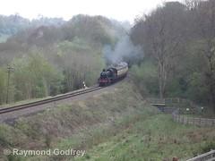 46443 (LMS 2-6-0 Ivatt Class 2) (Faversham 2009) Tags: highley 46443 svr severnvalleyrailway shropshire steam locomotive loco engine lms ivatt 260 class2