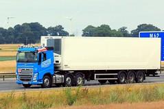 Ashcourt YN17 AOJ 25th July 2017 (asdofdsa) Tags: hgv haulage transport trucks travel motorway m62 goole langhamjunction rawcliffebridge 17plate
