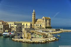 Trani Cathedral (EVERY SO OFTEN) Tags: tranicathsdral apulia southernitaly stnicolasthepilgrim cathedral 1099 italy harbour coast adriatic historic history outdoors colour daylight spring stone port view landscape