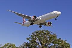LAX/KLAX: Virgin Australia Airlines Boeing B777-3ZG/ER VH-VPE (Roland C.) Tags: lax klax virgin virginaustralia airplane aircraft airport losangeles losangelesinternational california usa boeing b777 b773er b777300er vhvpe