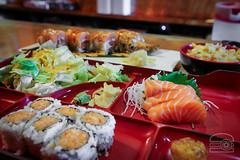 Bento for lunch - Volcano (sheryip) Tags: bento sashimi sushi food foodporn morgantown volcano japanese restaurant