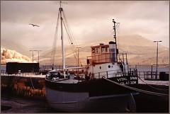 2017 07 17 Inveraray IR 720nm - 006 (Mister-Mastro) Tags: ship boat boot kutter schiff inveraray schottland ir infrared 720nm ebbe tide puffer
