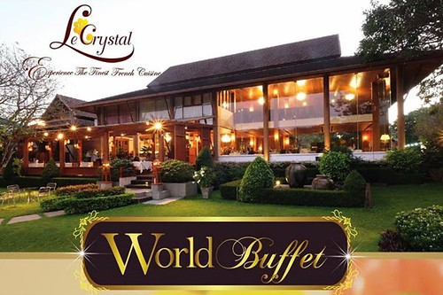 Top Chiang Mai Restaurant Le Crystal to Stage Monthly Buffet