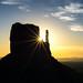 West Mitten Butte sunstar