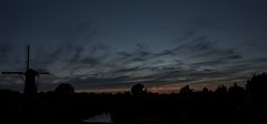 Zonsondergang De Eersteling (Hans Westerink) Tags: hoofddorp noordholland nederland nl hanswesterink canon 6d mill molen sunset clouds silhouette panorama stitched