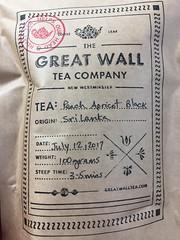 Flavour of summer (clearbrook4) Tags: greatwalltea peach apricot blacktea tea