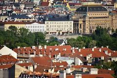 Mala strana walk (jmarnaud) Tags: czech prague 2017 summer walk mala strana old building castle street city sunset