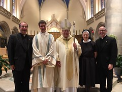 Ordination of Deacon Daniel Carr (St. Mark Seminary graduate 2014) – Diocese of Greensburg, July 15, 2017