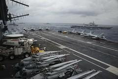 170716-N-OV009-002 (U.S. Pacific Fleet) Tags: ussnimitz nimitz aircraftcarrier carrier navy usnavy sailor my68 aviationboatswainsmate insurv bayofbengal