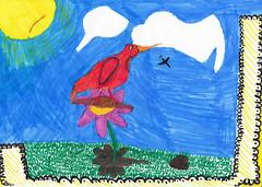 Piccolo (Jonathan Stroebel) Tags: jonathan zeichnungen brushpen gemälde kunst tiere lebewesen kind junge künstler drawings pencil painting art animals livingorganism child boy artist vogel bird