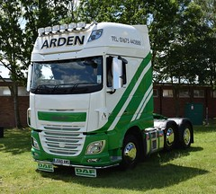Arden DAF XF Euro 6 Super Space Cab JS60 AWS (5asideHero) Tags: daf truckfest south west wales 2017 super space cab arden xf euro 6 js60 aws