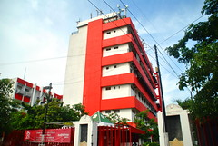 Telkom Kebalen (Everyone Sinks Starco (using album)) Tags: surabaya eastjava jawatimur building gedung architecture arsitektur office kantor