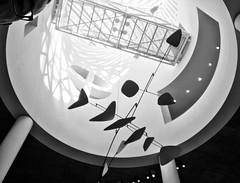 Playful (@ThetaState) Tags: california sanfrancisco 2017 july shadow skylight atrium blackandwhite monochrome sfmoma mariobotta architecture art sculpture mobile alexandercalder