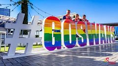 Swans DAP Launch and Training SCG-0246 (A u s s i e P o m m) Tags: rainbowswans sydneyswans afl pyrmont newsouthwales australia au