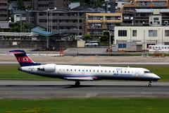 Ibex Airlines JA12RJ (Howard_Pulling) Tags: fukuoka airport fuk fukairport japan japanese howardpulling