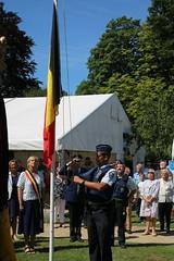 IMG_3124 (Patrick Williot) Tags: waterloo fetes communal parc juillet discours drapeau