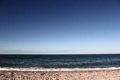 (Bonnie_S.) Tags: mare sea marche civitanova blue blu onde ocean sky cielo spiaggia beach seaside orizzonte