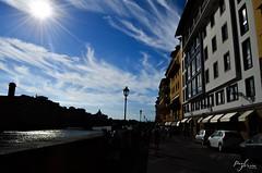 Firenze Street (paulgarciaphoto) Tags: italie italia shadow ombre nuage cloud sun soleil firenze florence