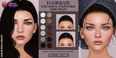 Omega Hairbase (Izzie Button (Izzie's)) Tags: logo omega quinn hairbase sl izzies
