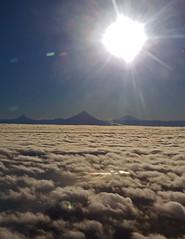 Chile desde arriba ;) (Azaharito) Tags: chile vistaaérea nubes sky volcanos