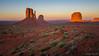 Monument Valley sunset (NettyA) Tags: 2017 arizona monumentvalley navajotribalpark sonya7r themittens usa utah travel sunset america northamerica southwest desert westmittenbutte eastmittenbutte merrickbutte landscape