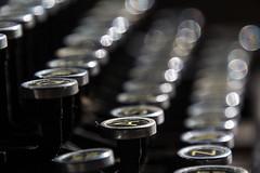 Made no more (LSydney) Tags: flickfriday madenomore typewriter keyboard bokeh