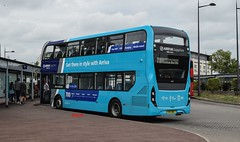 6518 Arriva Kent & Surrey rear (KLTP17) Tags: yx17nef 6518 arriva kent bluewater 700 sapphire adl enviro 400 mmc