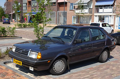 1990 Volvo 340 GL (peterolthof) Tags: volvo 340 roden peterolthof yt64nb