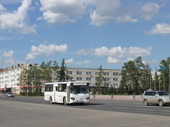 Daewoo - СемАЗ BS106 (stanislavkruglove) Tags: pavlodar павлодар 2017 bus daewoo семаз bs106